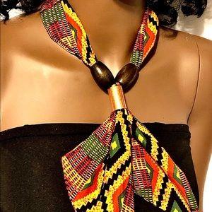 Neckit Accessories - Handmade African Kente Print Scarf